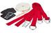 Slackline-Tools SlackTivity Set Slackline 15 m rød
